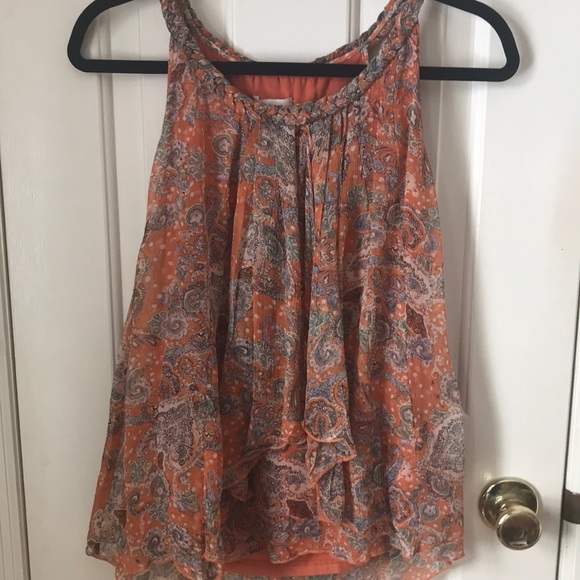 Sundance silk tank top.
